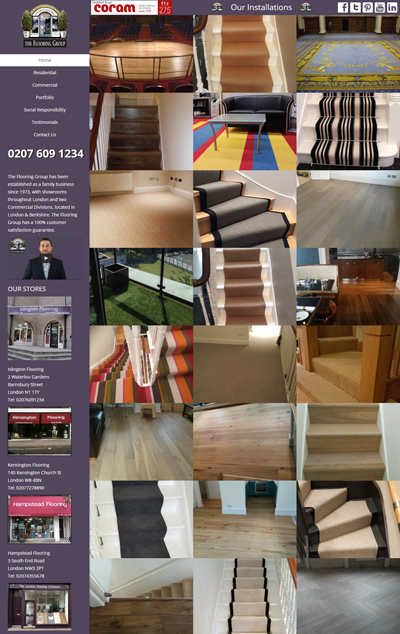 Project - The Flooring Group